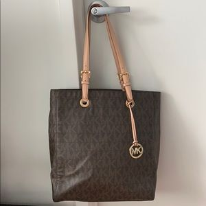 MICHAEL Michael Kors monogram laptop tote bag